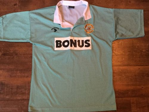 1990 1992 Hull City Away Football Shirt Adults Medium 38/40